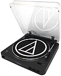Audio-Technica Bluetooth Stereo Turntable Black AUD ATLP60BK BT