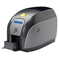 Zebra ZXP Series 1 Single Sided Dye Sublimation/Thermal Transfer Printer - Color - Desktop - Card Print - Auto Feed - 100 Card Feeder, 50 Card Output Hopper - 7.2 Second Mono - 30 Second Color - 300 dpi - USB - LCD Z11-00000000US00 Z11-00000000US00
