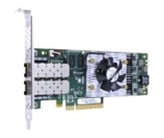 QLogic QLE8362 10Gigabit Ethernet Card - PCI Express x8 - Twisted Pair - Low-profile