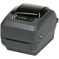 Zebra GX420t Direct Thermal/Thermal Transfer Printer - Monochrome - Desktop - Label Print - 4.09' Print Width - 6 in/s Mono - 203 dpi - 8 MB - USB - Serial - Ethernet - 4.25' Label Width - 39' Label L
