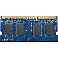 HP 4GB PC3-12800 (DDR3-1600 MHz) SODIMM Memory - 4 GB (1 x 4 GB) - DDR3 SDRAM - 1600 MHz DDR3-1600/PC3-12800 - Non-ECC - Unbuffered - 204-pin - SoDIMM