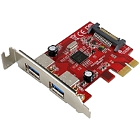 Click here for Visiontek USB 3.0 PCIe Expansion Card 2-port - PCI... prices