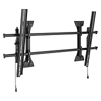 Chief Fusion Wall Tilt XTM1U Wall Mount for Flat Panel Display - 55' to 82' Screen Support - 250 lb Load Capacity - Black