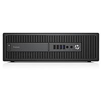 HP Business Desktop ProDesk 600 G2 SFF Desktop Computer - Intel Core i5-6500 3.20 GHz Quad-Core Processor - 4 GB DDR4 SDRAM - 500 GB Hard Drive - Windows 7 Professional 64-bit