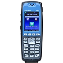 "Spectralink 8440 Handset - Cordless - Wi-Fi - 1000 Phone Book/Directory Memory - 2.2"" Screen Size - USB - Headset Port - 8 Hour Battery Talk Time - Blue 2200-37147-001 2200-37147-001"