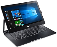Acer Aspire R7-372T-74B3 13.3' Touchscreen LCD Notebook - Intel Core i7 i7-6500U Dual-core (2 Core) 2.50 GHz - 8 GB LPDDR3 - 512 GB SSD - Windows 10 Home 64-bit - 1920 x 1080 - In-plane Switching (IPS