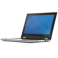Dell Inspiron 11 3000 I3148-6840SLV 2-in-1 Notebook PC - Intel Core i3-4010 1.7 GHz Dual-Core Processor - 4 GB DDR3L SDRAM - 500 GB Hard Drive - 11.6-inch Touchscreen Display - Windows 8.1 64-bit Edit