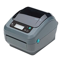 Zebra GX420t Direct Thermal/Thermal Transfer Printer - Monochrome - Desktop - Label Print - 4.09' Print Width - 6 in/s Mono - 203 dpi - 8 MB - Wireless LAN - USB - Serial - LCD - 4.25' Label Width - 3