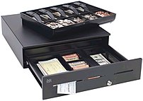 MMF ADV-111B11310-04 Advantage Cash Drawer No Slot US Standard - Black