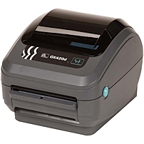 Zebra GK420d Direct Thermal Printer - Monochrome - Desktop - Label Print - 4.09' Print Width - Peel Facility - 5 in/s Mono - 203 dpi - 8 MB - USB - Ethernet - 4.25' Label Width - 39.02' Label Length