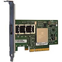 QLogic QLE7340 InfiniBand Host Bus Adapter - 1 x RJ-45 - PCI Express 2.0 - 40 Gbit/s - 1 x Total Infiniband Port(s) - Plug-in Card
