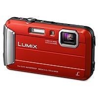 Panasonic Lumix DMC-TS25 16.1 Megapixel Compact Camera - Red - 2.7' LCD - 16:9 - 4x Optical Zoom - 4x - Optical (IS) - 4608 x 3456 Image - 1280 x 720 Video - PictBridge - HD Movie Mode