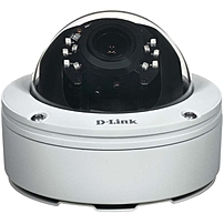 D-Link DCS-6517 5 Megapixel Network Camera - Monochrome, Color - 65.62 ft Night Vision - H.264, Motion JPEG - 2560 x 1920 - 3 mm - 10.50 mm - 3.5x Optical - CMOS - Cable - Dome, Pendant Mount