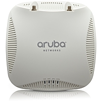 Aruba AP-204-F1 IEEE 802.11ac 867 Mbit/s Wireless Access Point - ISM Band - UNII Band - 2 x Antenna(s) - 2 x External Antenna(s) - 1 x Network (RJ-45) - Ceiling Mountable, Wall Mountable