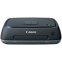 Canon Connect Station CS100 1 TB External Network Hard Drive - Gigabit Ethernet - Wireless LAN - USB 2.0 - Portable - Black