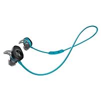 Bose SoundSport Wireless Headphones - Stereo - Aqua - Wireless - Bluetooth - Earbud - Binaural - In-ear