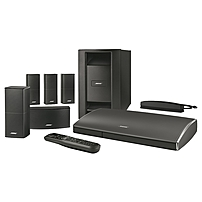 Bose Lifestyle 525 5.1 Home Theater System - 1080p - Control Console - Black - Bluetooth - Ethernet - Wireless LAN - HDMI - USB - Internet Streaming