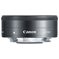 Canon - 22 mm - f/2 - Wide Angle Lens for Canon EF-M - 43 mm Attachment - STM - 2.4'Diameter