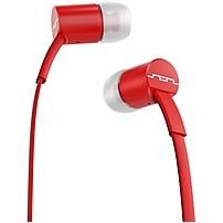 Sol Republic Jax Earset - Stereo - Red - Mini-phone - Wired - Earbud - Binaural - In-ear