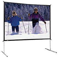Da-Lite Fast-Fold Deluxe Screen System - 72' x 96' - Da-Tex - 120' Diagonal