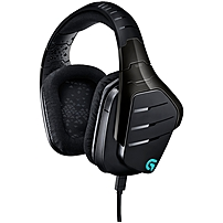 Logitech Artemis Spectrum RGB 7.1 Surround Gaming Headset - Black - Mini-phone, USB - Wired - 39 Ohm - 20 Hz - 20 kHz - Over-the-head - Binaural - Circumaural - Yes