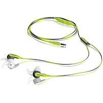 Bose SIE2i Sport Headphones - Stereo - Green - Wired - Earbud - Binaural - In-ear - 2.63 ft Cable