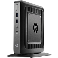HP t520 Thin Client - AMD G-Series GX-212JC Dual-core (2 Core) 1.20 GHz - Black - 4 GB RAM DDR3L SDRAM - 16 GB SSD - AMD Radeon HD Graphics - Gigabit Ethernet - Windows Embedded Standard 7E - DisplayP