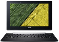 Acer Switch V 10 SW5-017-117R 10.1' Touchscreen LCD 2 in 1 Notebook - Intel Atom x5 x5-Z8350 Quad-core (4 Core) 1.44 GHz - 4 GB DDR3L SDRAM - 64 GB Flash Memory - Windows 10 Home 64-bit - 1280 x 800 -