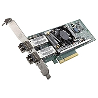 Dell Broadcom Dual Port 10 GbE SPF+ Low Profile Converged Network Adapter - PCI Express - 2 Port(s) - Optical Fiber