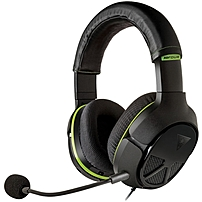 Turtle Beach Ear Force XO FOUR Stealth High-Performance Xbox One Gaming Headset - Stereo - Black - Mini-phone - Wired - 20 Hz - 20 kHz - Over-the-head - Binaural - Circumaural - 3 ft Cable