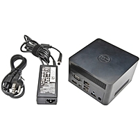 Dell The Dell Wireless Docking Station (WLD15: WiGig Capable) - for Notebook - 5 x USB Ports - 2 x USB 2.0 - 3 x USB 3.0 - Network (RJ-45) - HDMI - VGA - DisplayPort - Audio Line Out - Microphone - Wi