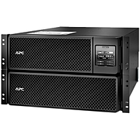 APC by Schneider Electric Smart-UPS SRT 10000VA RM 230V - 10000 VA/10 kW - 3 Minute - 6U Rack-mountable - 3 Minute - Surge, Spike, Lightning