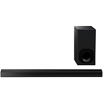 Sony HT-CT180 2.1 Sound Bar Speaker - 100 W RMS - Desktop, Wall Mountable - Wireless Speaker(s) - Dolby Digital, Dolby Dual Mono, Virtual Surround Sound - Bluetooth - Near Field Communication - Wireless Audio Stream, Night Mode, ClearAudio+, S-Master dig