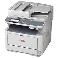Oki MB401 MB461 LED Multifunction Printer - Monochrome - Plain Paper Print - Desktop - EU Printer - Copier/Printer/Scanner - 35 ppm Mono Print - 2400 x 600 dpi Print - Automatic Duplex Print - 35 cpm