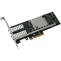 Dell Intel X520 DP 10Gb DA/SFP+ Server Adapter Full-Height Bracket - PCI Express - 2 Port(s) - Optical Fiber