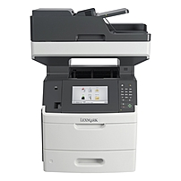 Lexmark MX710DE Laser Multifunction Printer - Monochrome - Plain Paper Print - Desktop - Copier/Fax/Printer/Scanner - 60 ppm Mono Print - 1200 x 1200 dpi Print - Automatic Duplex Print - 60 cpm Mono C