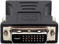 Dell VGA/DVI Video Adapter - 1 x DVI-I Male Video - 1 x HD-15 Female VGA