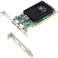 PNY Quadro NVS 310 Graphic Card - 1 GB DDR3 SDRAM - PCI Express 2.0 x16 - Low-profile - Single Slot Space Required - 64 bit Bus Width - Fan Cooler - OpenGL 4.1, OpenCL, DirectX 11.0, DirectCompute - 2