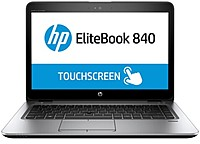HP EliteBook 840 G3 X5F99US Notebook PC - Intel Core i7-6600U 2.6 GHz Dual-Core Processor - 16 GB DDR4 SDRAM - 512 GB Solid State Drive - 14-inch Touchscreen Display - Windows 10 Professional 64-bit E