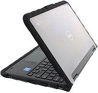 GUMDROPCASES DT-DL3189-BLK DropTech Case For 11-inch Notebook - Black/Clear