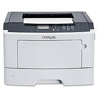 Lexmark MS410 MS415DN Laser Printer - Monochrome - 1200 x 1200 dpi Print - Plain Paper Print - Desktop - 40 ppm Mono Print - 300 sheets Standard Input Capacity - 80000 Duty Cycle - Automatic Duplex Pr
