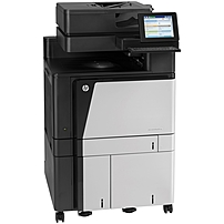 HP LaserJet M880z+ Laser Multifunction Printer - Color - Plain Paper Print - Floor Standing - Copier/Fax/Printer/Scanner - 45 ppm Mono/45 ppm Color Print - 1200 x 1200 dpi Print - Automatic Duplex Pri