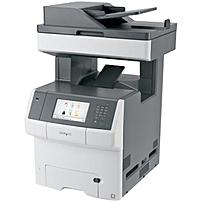 Lexmark X740 X748DE Laser Multifunction Printer - Color - Plain Paper Print - Desktop - Copier/Fax/Printer/Scanner - 35 ppm Mono/35 ppm Color Print - 2400 x 600 dpi Print - Automatic Duplex Print - 35
