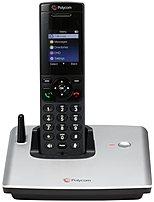Polycom VVX D60 2200-17821-001 Expandable Cordless VoIP Phone - 2-inch LCD - Black