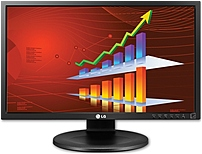 LGELECTRONICS 22MB35P-I 22-inch LED-lit Monitor - 1080p - 5000000:1 - 5 ms - Black