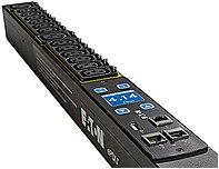 Eaton ePDU G3 Metered Input 40U-A; 12.48 KW; IN: CS8365 35A 3P OUT: 42XC13 - 42 x IEC 60320 C13 - 12.48 kVA - Network (RJ-45) - 40U - Rack-mountable