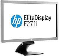 HP Elite Monitor E271i D7Z72A8 27-inch IPS LED-lit Monitor - 1080p - 5000000:1 - 7 ms - Silver