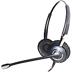 Jabra BIZ 2400 II QD Headset - Stereo - Quick Disconnect - Wired - Gold Plated - Over-the-head - Binaural - Supra-aural - Yes