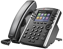 Polycom VVX 411 IP Phone - Cable - Wall Mountable - 12 x Total Line - VoIP - Speakerphone - 2 x Network (RJ-45) - PoE Ports - LDAP, SIP, DHCP, SNTP, RTCP, RTP, TCP, UDP, SRTP Protocol(s)