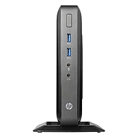 HP t520 Thin Client - AMD G-Series GX-212JC Dual-core (2 Core) 1.20 GHz - Black - 4 GB RAM DDR3L SDRAM - 8 GB SSD - AMD Radeon HD Graphics - Gigabit Ethernet - HP ThinPro (English) - DisplayPort - VGA
